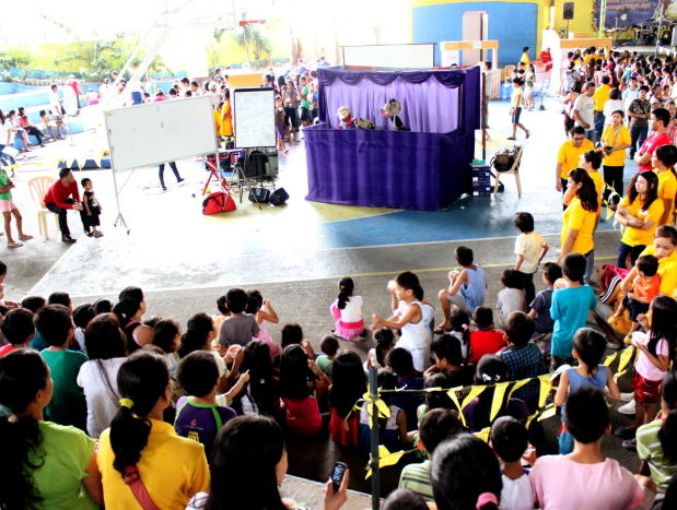 puppet show by roppets edutainment production inc.
